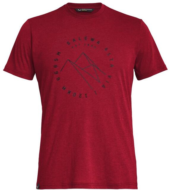 SALEWA Alta Via Dri Rel Shirt Herren premium navy melange